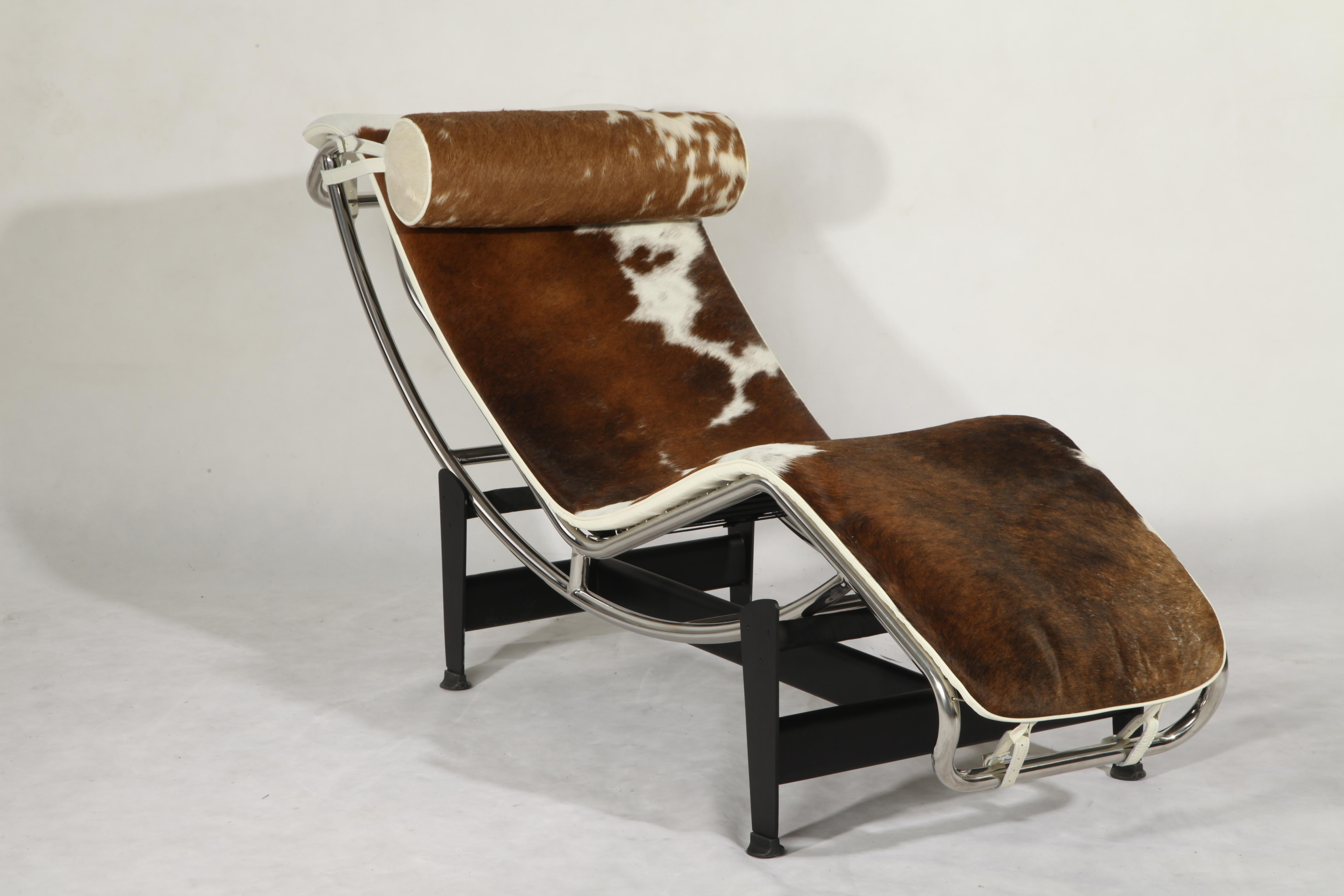 LC4 pony skin chair