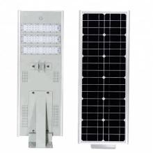 Встроенные уличные фонари на солнечных батареях