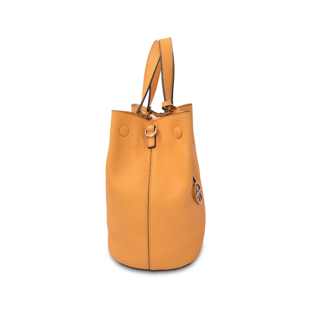 Women Leather Bucket Bag