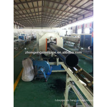 Abastecimiento de agua subterránea de tubería de PE