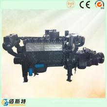 Piezas de motor profesionales 6126zlc Motor Diesel para barcos pequeños