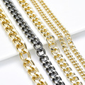 Wholesale High Quality Handbag Purse Iron Chain For Shoulder Bag Chain Bag Accessories Stainless Steel Decorative Chain