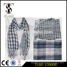 100% cotton two side lady scarf best gift for christmas fashion scarves