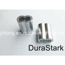 Cuerda de alambre de acero cerraduras de aluminio / manga (DR-Z0105)