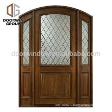 Европейская дверь в стиле кантри, распашная, с боковой панелью