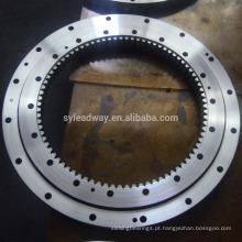 rolamento da plataforma giratória da engrenagem interna para a máquina escavadora