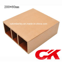 100% recyclable WPC Guardrail de Chine