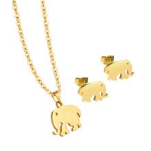 Venta al por mayor Briazilian Luxury Schmuck 24K Gold Jewelry Set