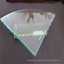 Estante satety endurecido / vidrio de la hoja para los muebles de cristal