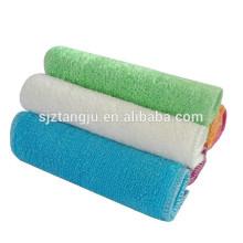 toalla de tela limpia de bambú