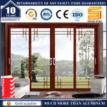 Puerta Corredera de Aluminio Acristalada