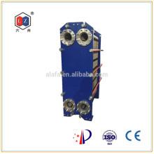 China Plattenwärmetauscher Wasser-Ölkühler Hersteller (M15B)