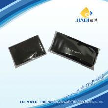 Chiffon d'impression en microfibres avec emballage individuel