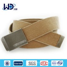 China supplier durable canvas men jeans belt