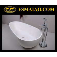 Special Design Freestanding Solid Surface Bathtub (BS-8608)