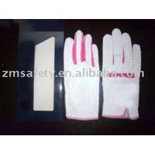 High quality cabretta leather golf glove ZM427-H