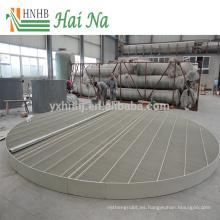 Eliminador de derrames de deshielo de alta eficiencia de la torre de enfriamiento