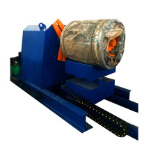 hebei xinnuo hydrualic 20 ton 5 tons manual / electric decoiler for roll forming machine