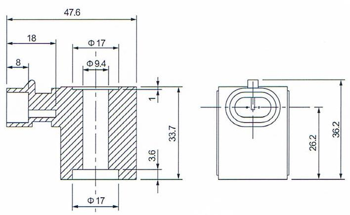 Dimension of BB09533619 Solenoid Coil:
