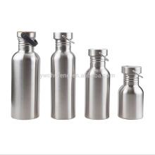 Botella de agua deportiva de alta calidad de acero inoxidable clásico 304