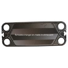 Placas y juntas del intercambiador de calor (pueden reemplazar a Alfalaval)