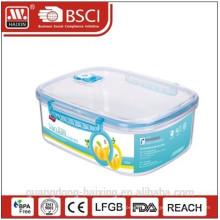 BPA libre sous vide alimentaire contenant 4000ML
