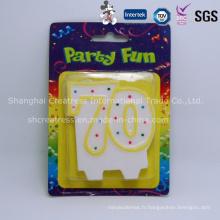 Numéro professionnel de décoration de partie de prix d'usine de produit de la Chine pour des gâteaux