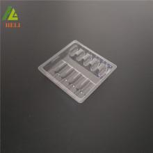 Kundengebundene 1ml * 5 klare Plastikbehälterverpackung für Ampullenflaschen