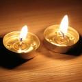 white mini smokeless unscented  tealight candles/tea light/tealights