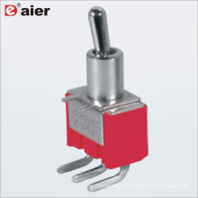 Daier MTS-102-C3 ON-ON Mini Toggle Switch 3A 250VAC