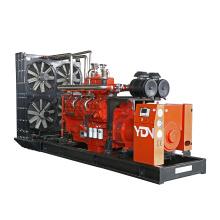 100kw-2000kw biogas generator with cummins engine