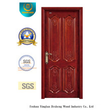 European Style Solid Wood Door with Carving for Interior or Exterior (DS-6012)