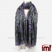 Модный шаль с шарфом из кашемира