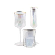 Luster Plating Irregular Wine Glass