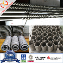 Tube fileté soudé ASTM B862 Gr1 titane