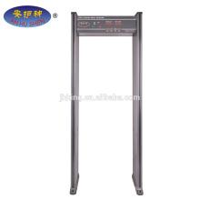 détecteur de métaux mobile 6 zone Walk Through Metal Detector