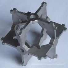 Support de coulée en acier inoxydable de haute qualité personnalisé