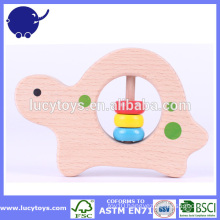 Cute Animal teether Animal Shaped Wooden teether