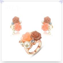 Joyería de moda accesorios de aleación joyería de moda conjunto (ajs133)