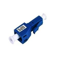 Atenuador de fibra óptica macho para fêmea lc sc apc pc upc para telecomunicações