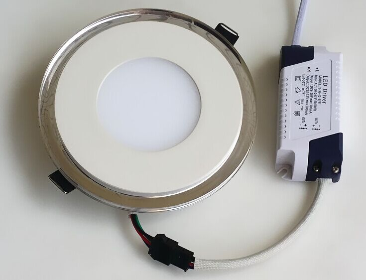 LED Round Panel Lights Pmma