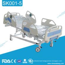 SK001-5 3 Function Adjustable Electric Icu Room Hospital Medical Patient Sick Bed