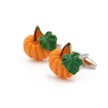 VAGULA drôle Orange Mancuerna boutons de manchette (HLK35141)