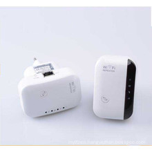 300Mbps Wireless Extender Booster 802.11 B/G/N Wall Plug WiFi Repeater