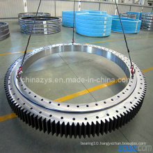 Zys High Quality Small Double Row Different Ball Diameter Slewing Bearing 020.25.630