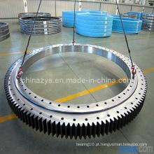 Zys alta qualidade pequena dupla linha de diâmetro de bola diferente rolamento de giro 020.25.630