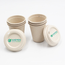 Hot-selling Portable Sugarcane Bagasse Cups coffee mugs with tary