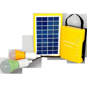 Sistema Solar Home con luz LED