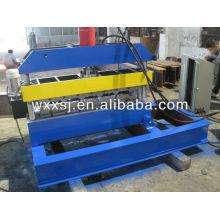 Hydraulic roof sheet crimping machine