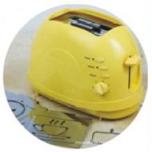 Toaster mit abnehmbaren Rösten Logo gelbe Farbe (WT-819R)